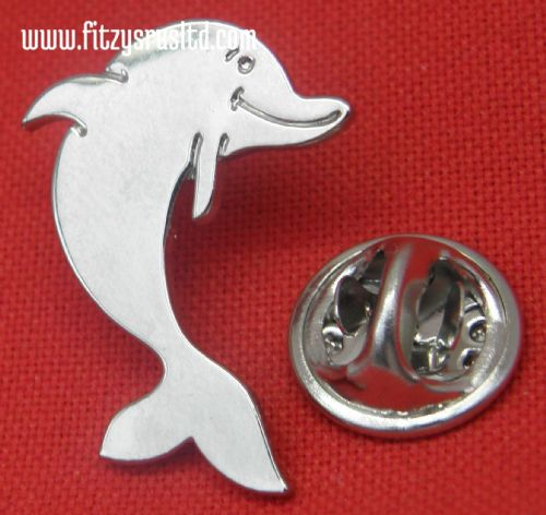 Dolphin - Marine Mammal Enamel Lapel Pin Badge - Brooch